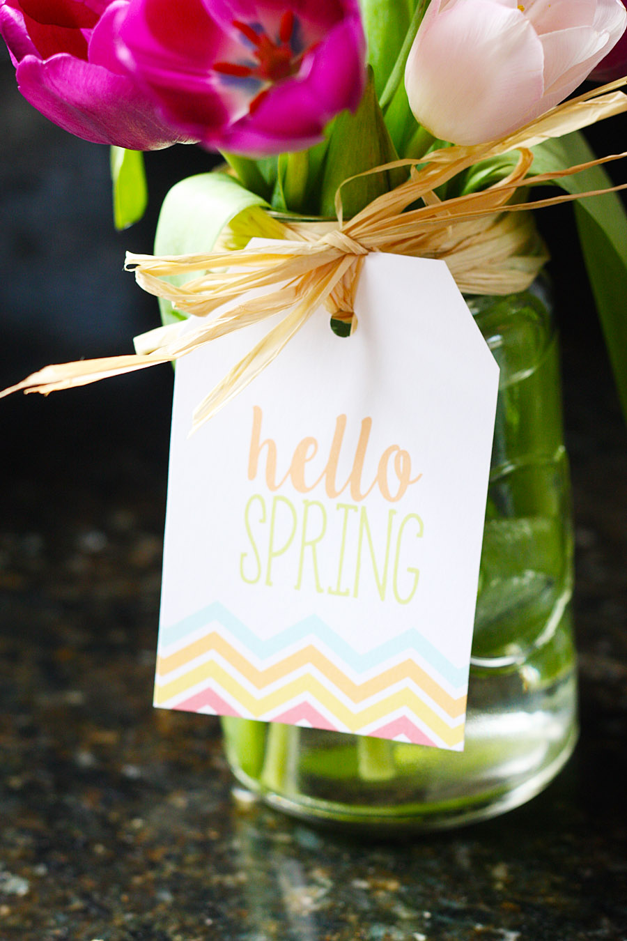 Free printable spring gift tags eighteen25 free printable spring gift tags printable gift tags negle Images