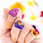 DIY Shrinky Dinks Flower Rings