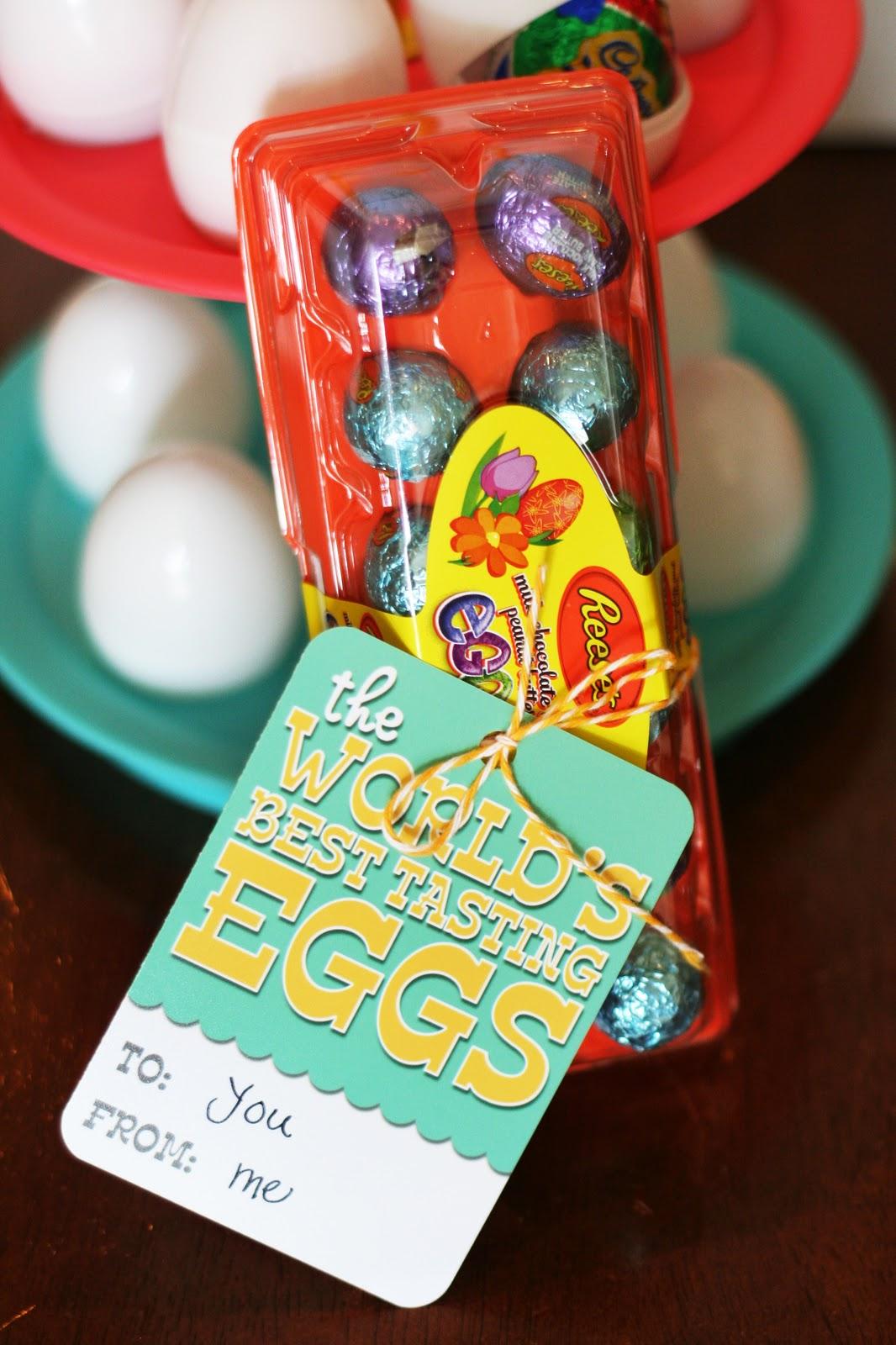 World's Best Tasting Eggs   Easter gift ideas   Free Easter Printables