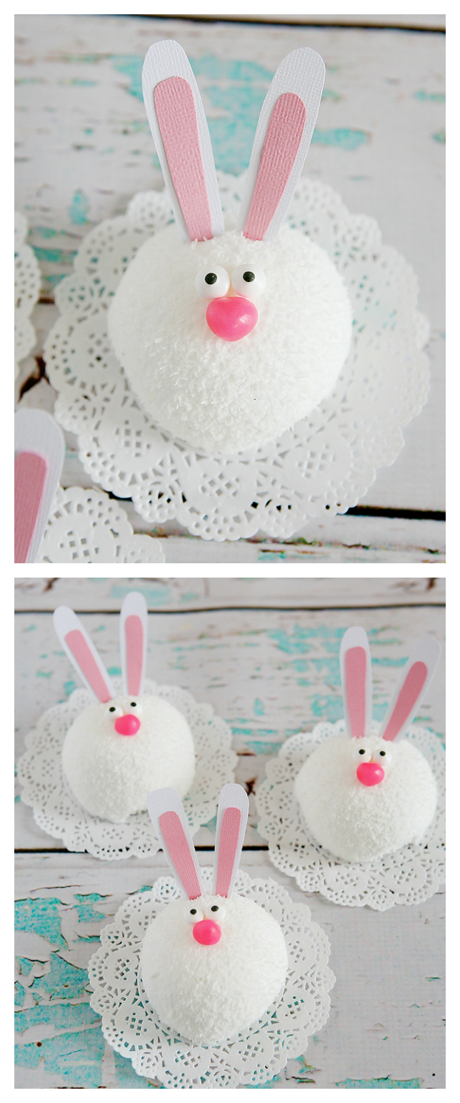 Easter Treats | Cutest little Easter bunnies made out of snowballs!