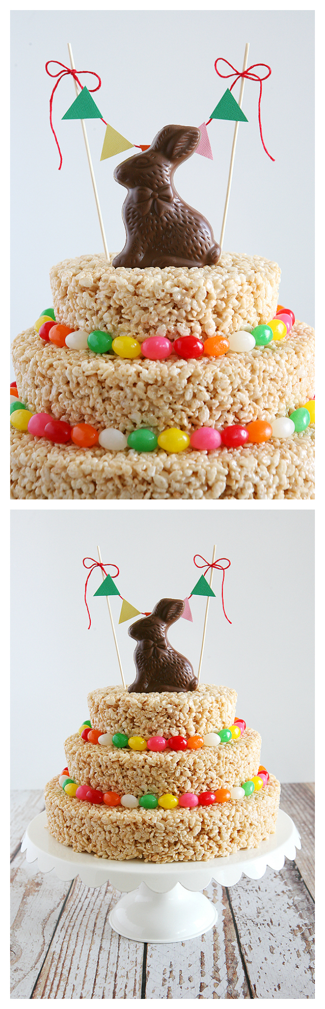 Easter Rice Krispies Treat Cake | Easter Treats