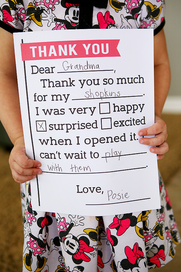birthday thank you letter free printable fill in the blank thank you letters for kids