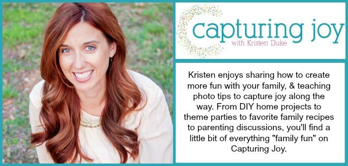 Capturing Joy with Kristen Duke creative blog info