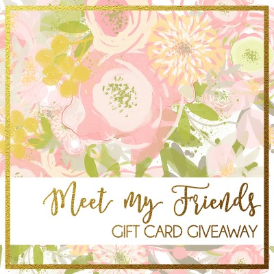 Meet Our Friends Gift Card Giveaway