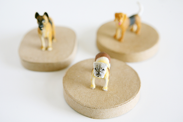 DIY Puppy Dog Trinket Boxes