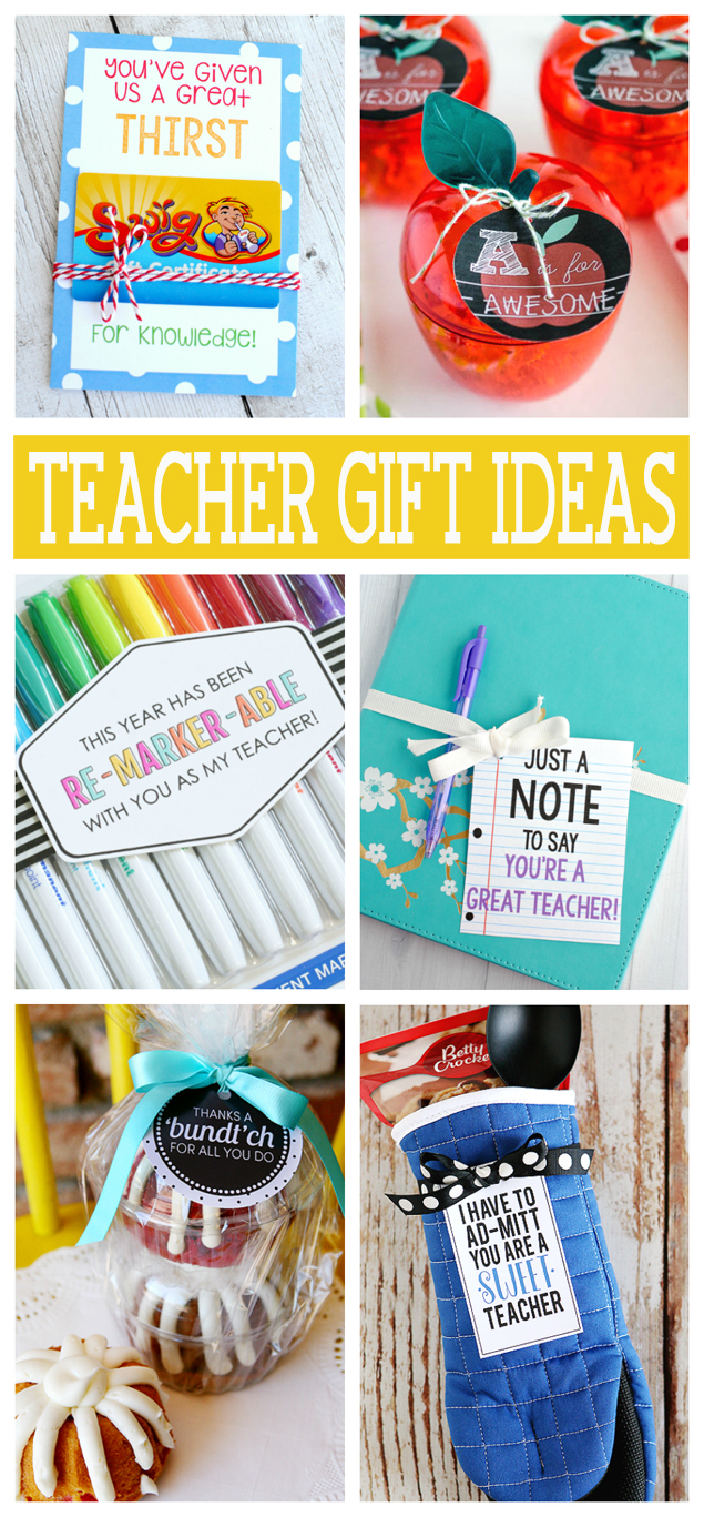 Teacher Appreciation Gifts that all teacher will love!