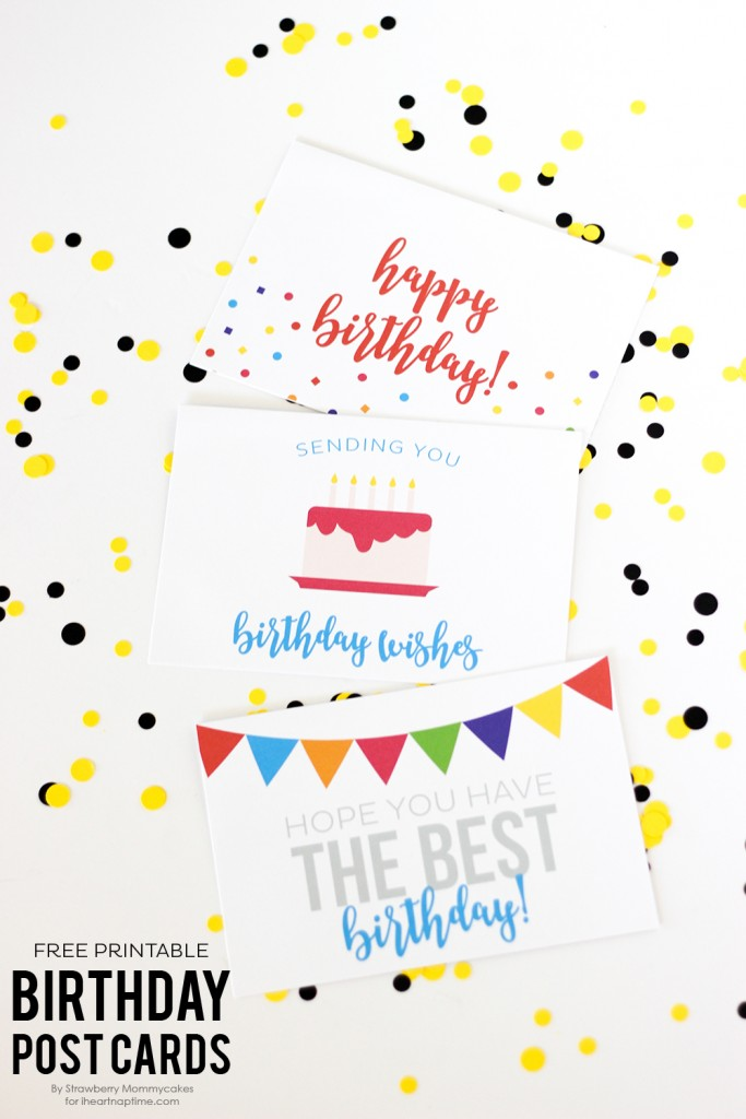Free printable cards, fun gift ideas with printable tags and many more great birthday ideas!