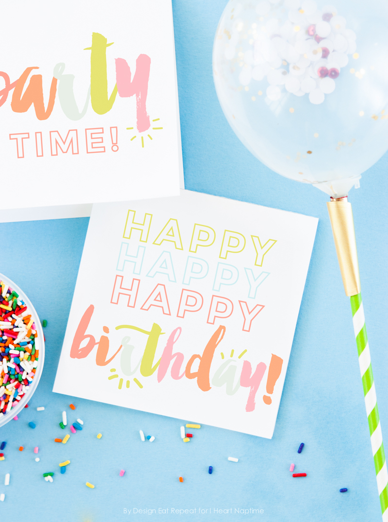Free Printable Birthday Card Ideas