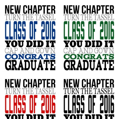 2016 Graduation Subway Art