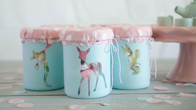 Woodland Pixie Party | Mini Favor Jars