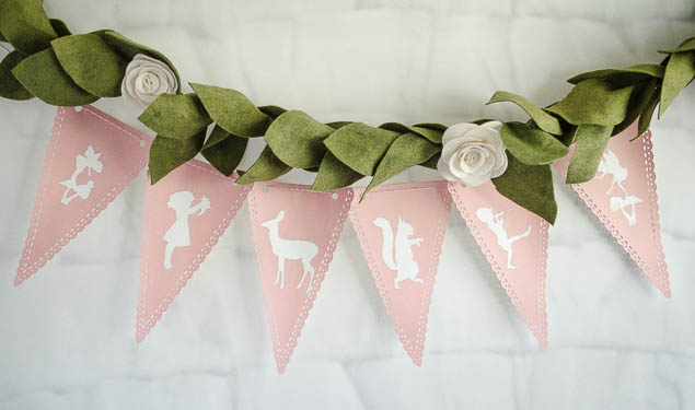 Woodland Pixie Party | Woodland Fairy Banner