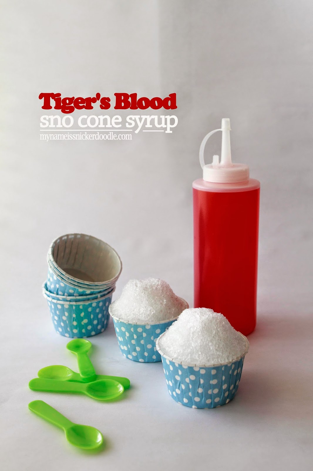 Tiger's Blood Sno Cone Syrup