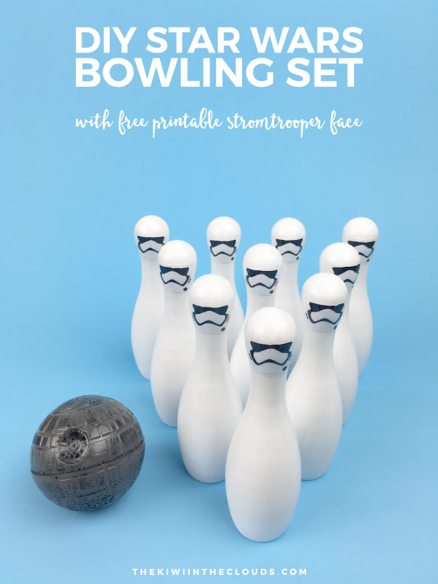Star Wars DIY Bowling Set