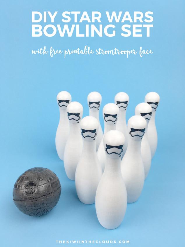 Star Wars DIY Bowling Set