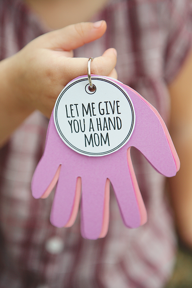 Let Me Give You A Hand Mom | Mothers Day Gifts
