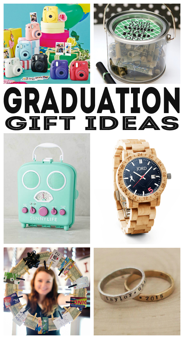 Lots of fun Graduation Gift Ideas