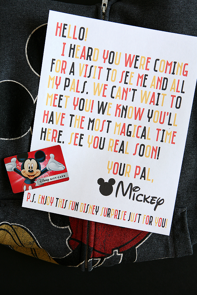 Mickey Mail | Start the Disney Magic with a letter and surprise from Mickey himself!