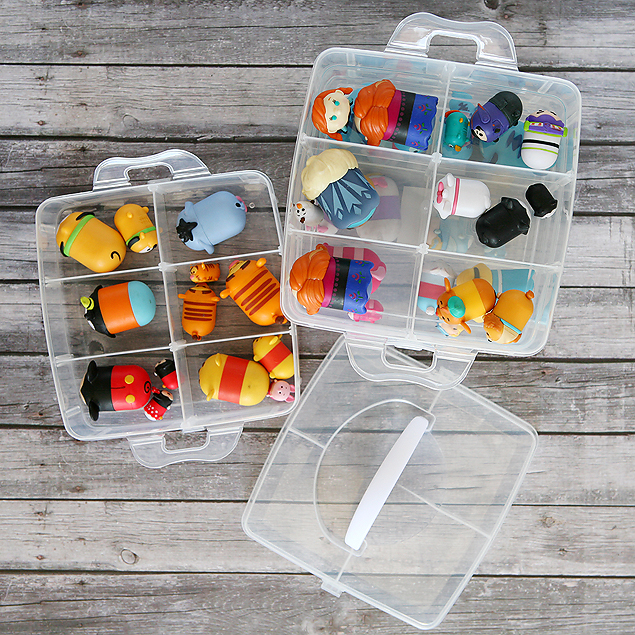 Craft Store Tsum Tsum Case | Organize and store all your adorable tsum tsums in one place.