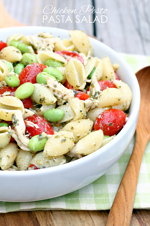 Chicken Pesto Pasta Salad Recipe