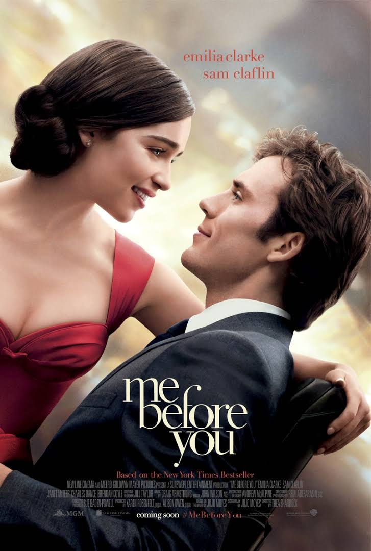 Can't wait to see Me Before You. The book was amazing!