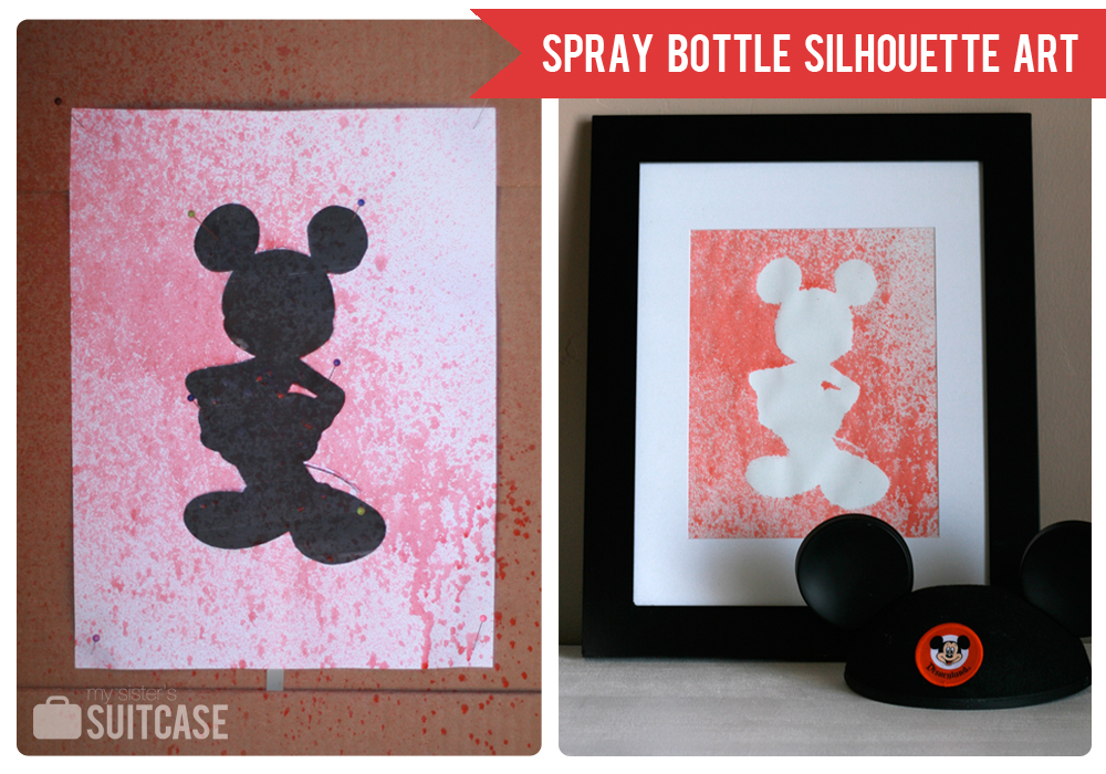 Spray Bottle Silhouette Art