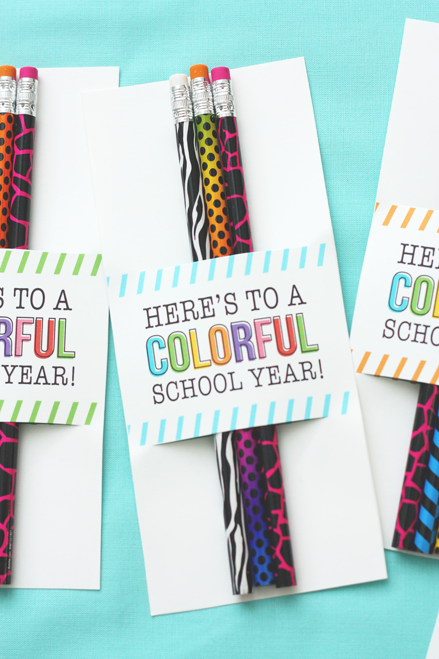 Here's To A Colorful School Year | Back To School Gifts
