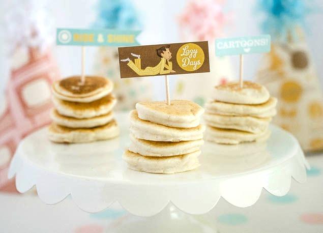Pancakes And Pajama Party | Birthday Party Ideas