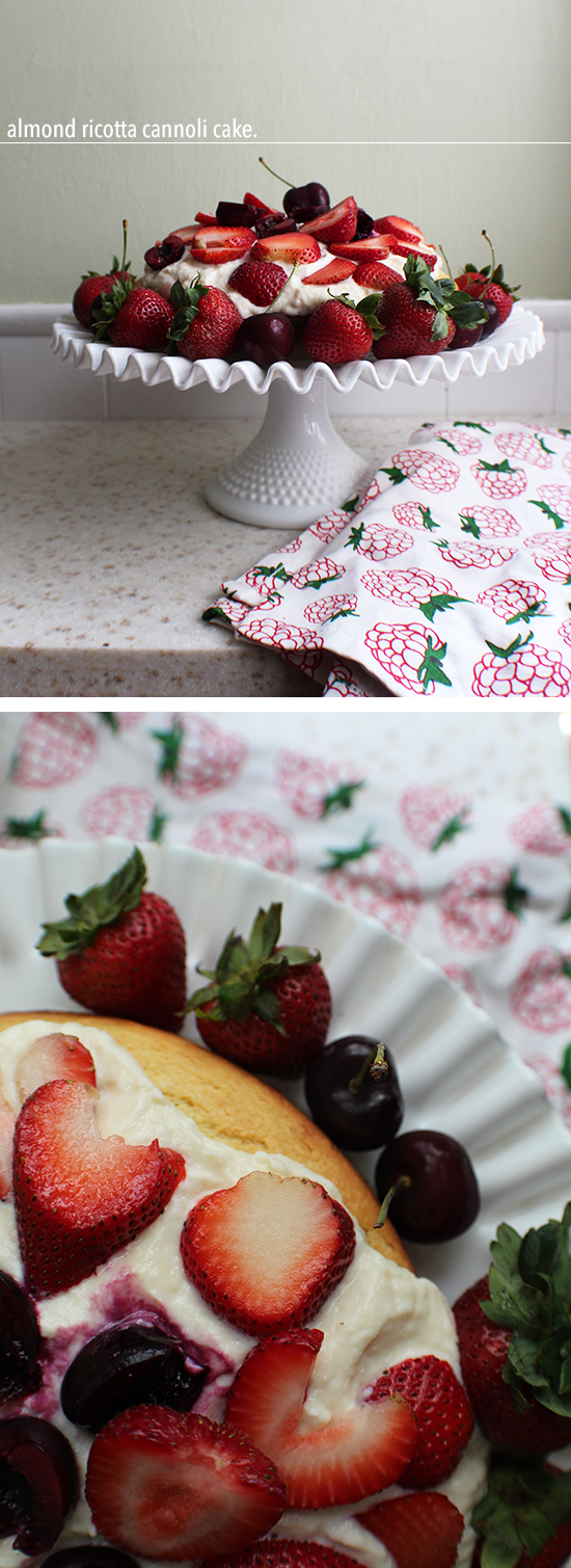 Almond Ricotta Cannoli Cake | Dessert Recipes