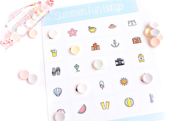 Free Printable Summer Fun Bingo For Kids
