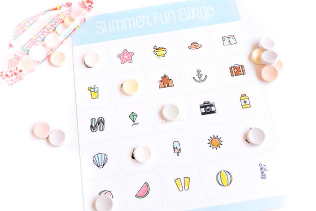 Free Printable Summer Fun Bingo For Kids