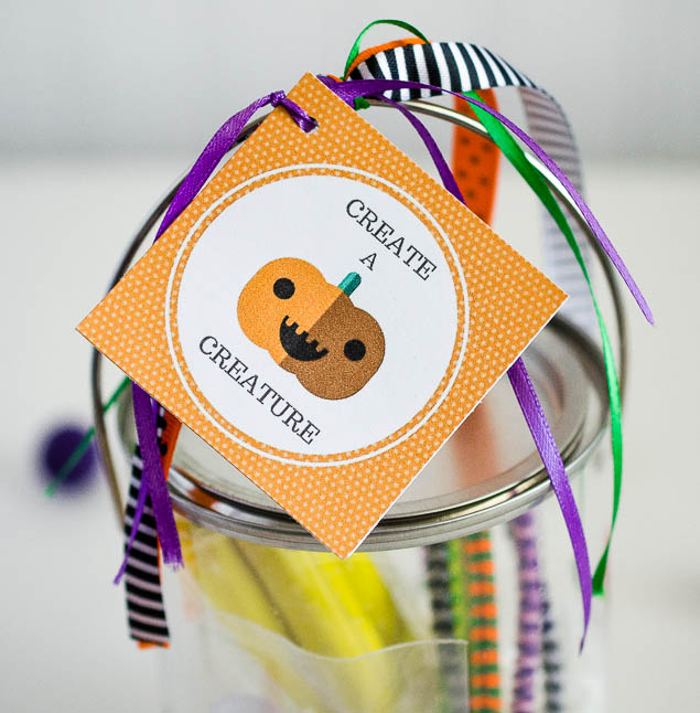 Create A Creature Kit | Fun Halloween Gift Idea or fun for a Halloween Party