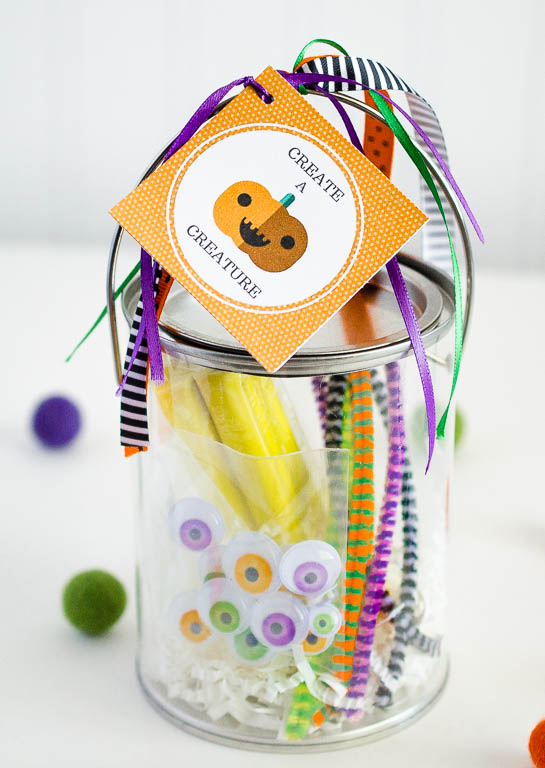 Create A Creature Kit | Fun Halloween Gift Idea or fun for a Halloween Party