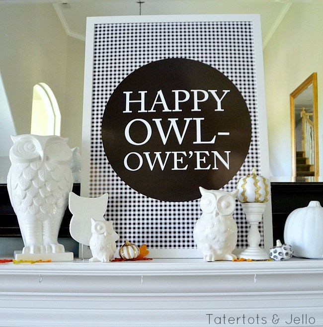 Happy Owl-oween Printables
