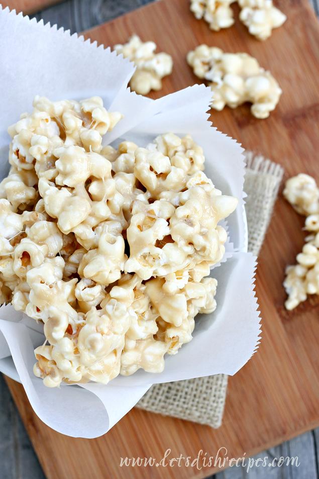 Marshmallow Caramel Corn