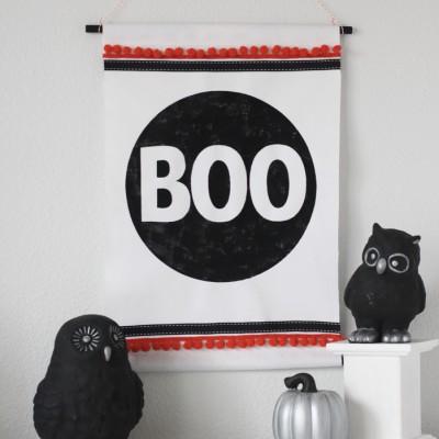 BOO Wall Hanging