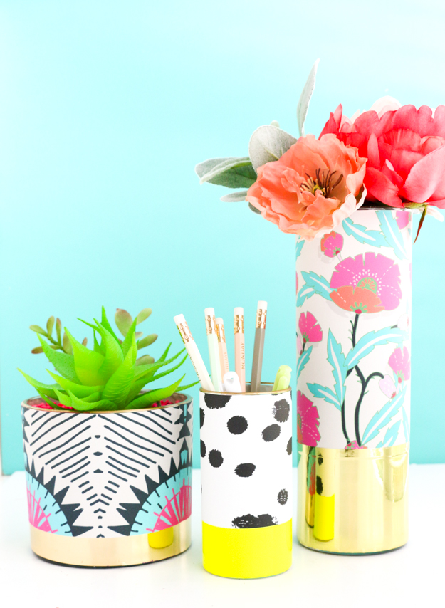 Wrapped Vases