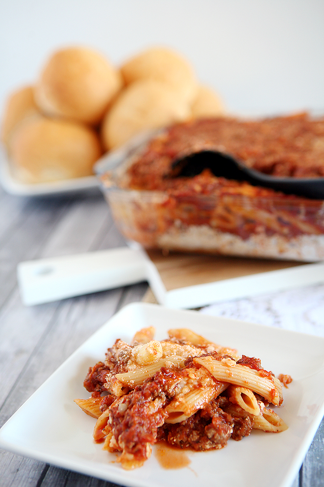 Baked Ziti Recipe | Easy Dinner Recipes