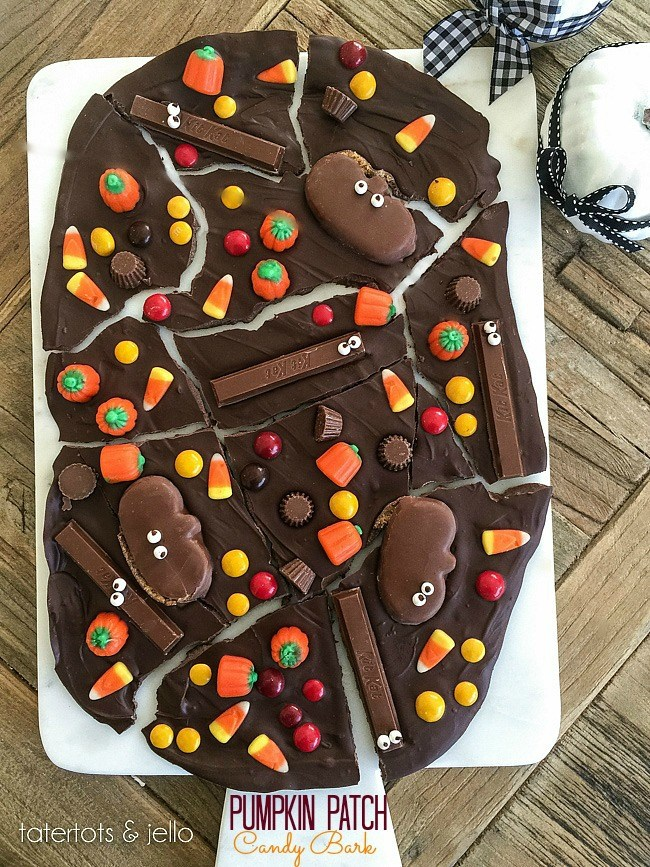 Pumpkin Patch Candy Bark