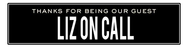 ss liz on call