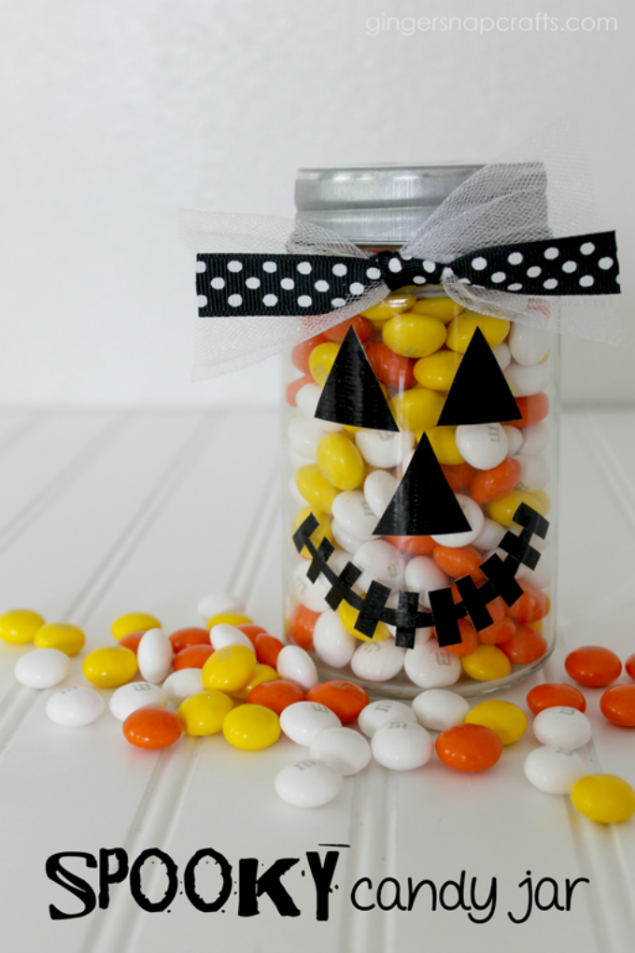 spooky candy jar
