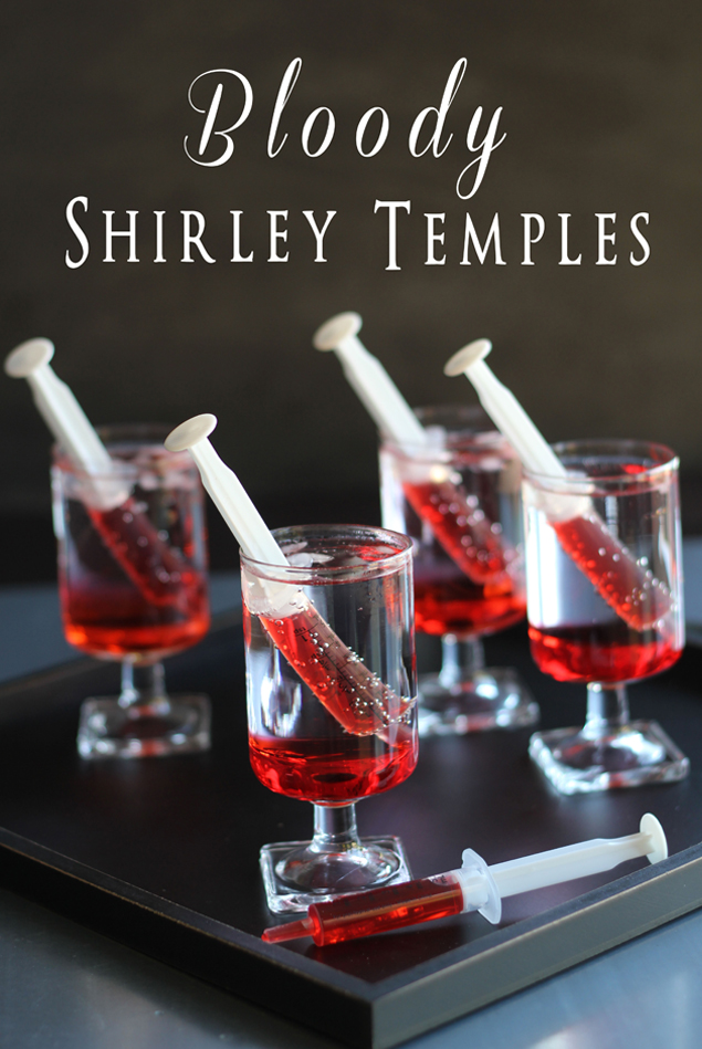 Halloween Party | Bloody Shirley Temples