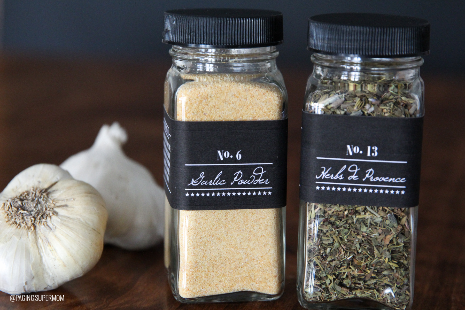 Halloween Gift Ideas | Spice Jar Labels