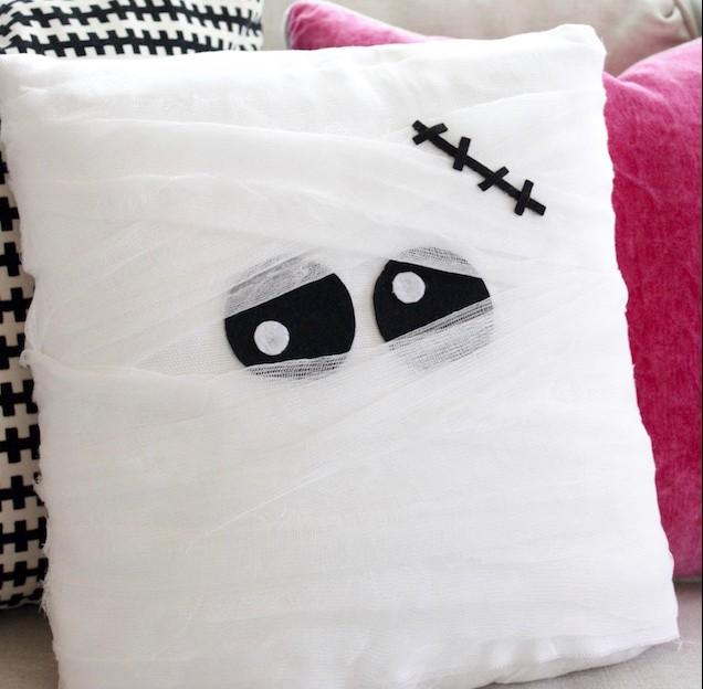Diy Mummy Pillow Eighteen25