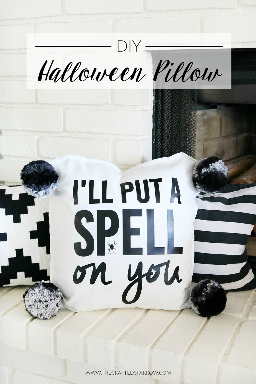 DIY Halloween Pillow