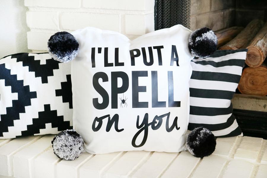 Halloween Decor   Put A Spell On You Pillow