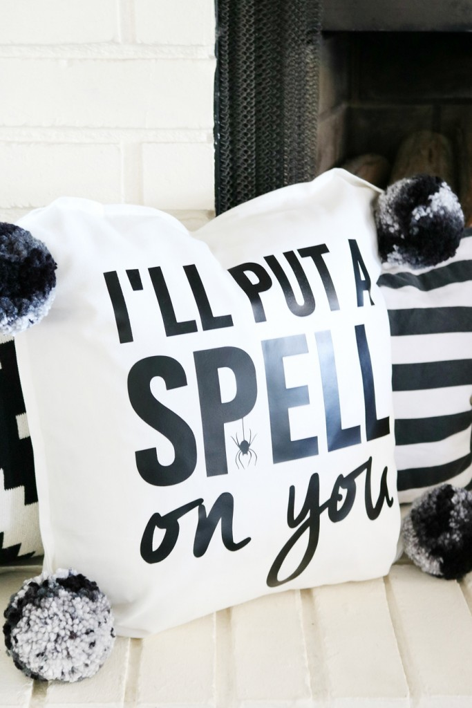 Halloween Decor | Put A Spell On You Pillow