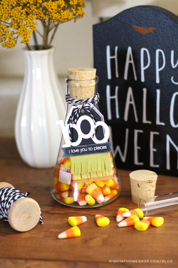 DIY Halloween | Treat Glasses and Gift Tags