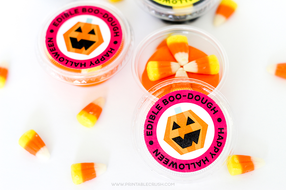 Halloween Edible Playdough