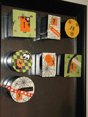 Halloween Advent Board