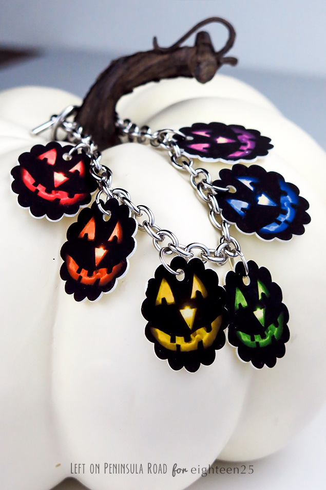 Halloween Shrink Plastic Jewelry